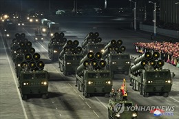 Triều Tiên trình làng nhiều vũ khí mới tại lễ duyệt binh mừng Đại hội Đảng