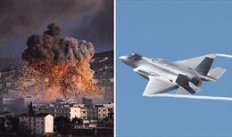 Mỹ không kích các mục tiêu thân Iran ở Syria
