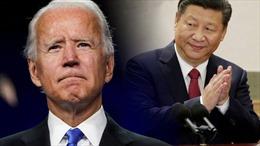 Trong cuộc điện đàm đầu tiên với Chủ tịch Trung Quốc, Tổng thống Mỹ Biden nhấn mạnh ưu tiên duy trì khu vực Ấn Độ-Thái Bình Dương tự do, rộng mở