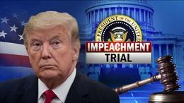 Thượng viện Mỹ bắt đầu xét xử luận tội cựu Tổng thống Trump