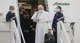Giáo hoàng Francis đến thủ đô Baghdad, bắt đầu chuyến thăm lịch sử tới Iraq