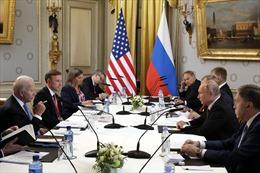 Tổng thống Nga-Mỹ kết thúc hội nghị thượng đỉnh, tiến hành họp báo