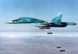 Mãn nhãn với màn diễn tập Su-34 tiêu diệt mục tiêu bằng tên lửa