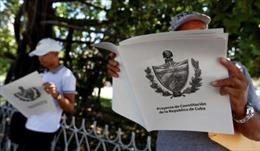Cuba tiến hành lấy ý kiến nhân dân về Dự thảo Hiến pháp