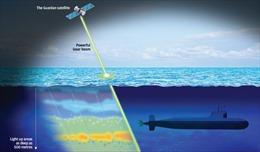 Trung Quốc kỳ vọng phát triển vệ tinh laser 'sát thủ tàu ngầm'