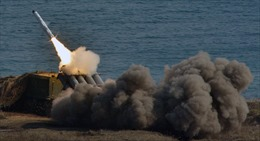 Tên lửa bờ của Nga thể hiện uy lực trong cuộc tập trận tại biển Baltic