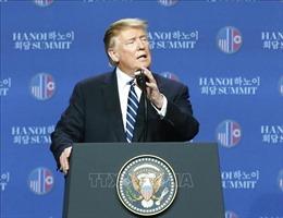Hội nghị thượng đỉnh Mỹ-Triều Tiên lần 2 kết thúc mà không có Tuyên bố chung
