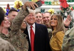 Không nghỉ Giáng sinh, Tổng thống Trump bất ngờ tới Trung Đông