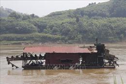 Huyện Văn Yên tiếp thu phản ánh trên báo Tin tức về khai thác khoáng sản gây sạt lở bờ sông Hồng