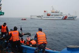Cảnh sát biển Việt Nam và Trung Quốc tuần tra liên hợp nghề cá Vịnh Bắc Bộ