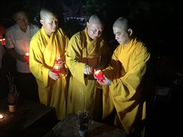Trung ương Giáo hội Phật giáo Việt Nam thắp nến tri ân các anh hùng liệt sĩ tại nghĩa trang Vị Xuyên