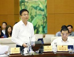 Bộ trưởng Lê Thành Long: Quá trình xây dựng Luật vẫn còn chậm, có văn bản phải rút ra khỏi chương trình