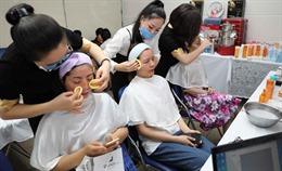 Chương trình Makeup Show tôn vinh vẻ đẹp phụ nữ Thông tấn xã Việt Nam