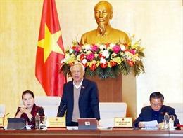 Ủy ban Thường vụ Quốc hội thống nhất caođề án sắp xếp các đơn vị hành chính 6 tỉnh, thành phố