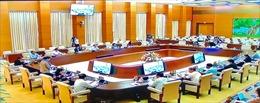 Khai mạc Phiên họp thứ 45 của Ủy ban Thường vụ Quốc hội