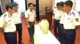 Cảnh sát biển bàn giao cổ vật cho Bảo tàng Bà Rịa - Vũng Tàu
