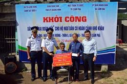 Cảnh sát biển hỗ trợ kinh phí xây nhà 'Đại đoàn kết' cho ngư dân