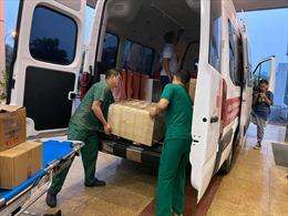 Những hình ảnh đầu tiên về các y bác sĩ lên đường đón công dân Việt Nam tại Guinea Xích đạo về nước