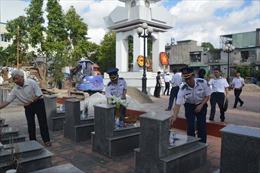 Cảnh sát biển tri ân các anh hùng liệt sĩ, gia đình chính sách