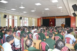 Khoảng 200 cựu chiến binh đượctuyên truyền về Luật Cảnh sát biển Việt Nam