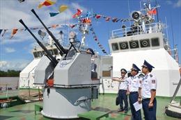 Cảnh sát biển thi tàu tốt và hội thao huấn luyện tàu năm 2020