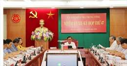 Ủy ban Kiểm tra Trung ương xem xét, đề nghị thi hành kỷ luật một số cán bộ quân đội