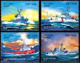 Bộ tem về biển, đảo với chủ đề 'Tàu Cảnh sát biển Việt Nam'