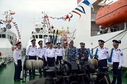 Tưng bừng ngày hội của các chuyên ngành Cảnh sát biển