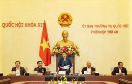 Bế mạc Phiên họp 49 của Ủy ban Thường vụ Quốc hội
