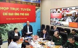 Công điện của Thủ tướng chỉ đạo triển khai ứng phó khẩn cấp bão số 9