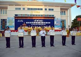 Bế mạc Hội thi tàu tốt – Hội thao huấn luyện tàu cấp Bộ Tư lệnh Cảnh sát biển năm 2020