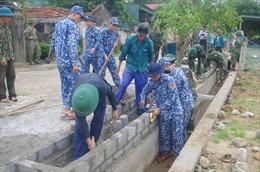 Bộ Tư lệnh Vùng Cảnh sát biển 1 chung tay xây dựng nông thôn mới nâng cao tại Hà Tĩnh