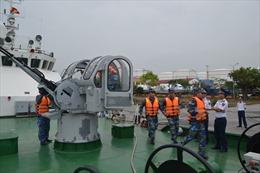 BTL Vùng Cảnh sát biển 1 sẵn sàng cho Hội thi tàu tốt – Hội thao huấn luyện tàu