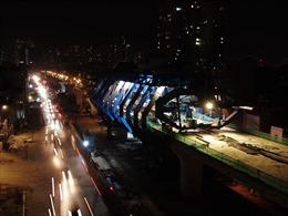Công trình giao thông trọng điểm Thủ đô hối hả về đích chào mừng Đại hội XIII của Đảng