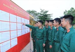 Các đơn vị Sư đoàn 304, Quân đoàn 2 làm tốt công tác tuyên truyền về ngày bầu cử