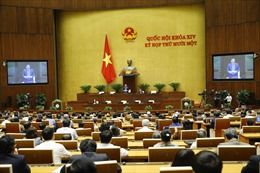Ngày 2/4, Quốc hội thảo luận về việc miễn nhiệm Chủ tịch nước