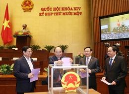Ngày 7/4, Quốc hội phê chuẩn việc miễn nhiệm một số Phó Thủ tướng, Bộ trưởng