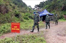 Tăng cường kiểm soát người nhập cảnh trái phép trên tuyến biên giới, phòng chống COVID-19