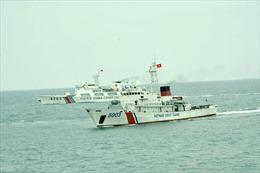 Kết thúc chuyến tuần tra liên hợp trên vùng Vịnh Bắc Bộ giữa Việt Nam và Trung Quốc