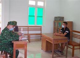 Bộ đội biên phòng tạm giữ 32 người nhập cảnh trái phép