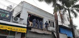Cảnh sát biển chi viện chữa cháy tại đảo Phú Quốc