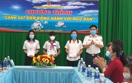 Bộ Tư lệnh Vùng Cảnh sát biển 4 đồng hành với ngư dân xã đảo An Sơn