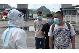 Lực lượng biên phòng bắt giữ 59 trường hợp nhập cảnh trái phép