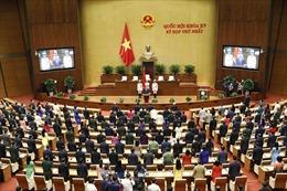 Ngày 21/7, biểu quyết thông qua nghị quyết bầu các chức danh của Ủy ban Thường vụ Quốc hội