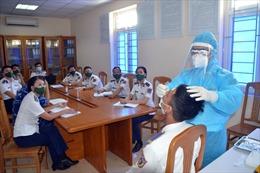 Vùng Cảnh sát biển 1 tập huấn lấy mẫu xét nghiệm SARS-CoV-2