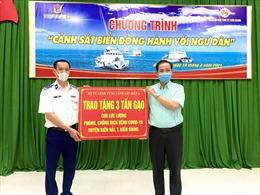 Chương trình Cảnh sát biển đồng hành với ngư dân ở Vùng Cảnh sát biển 4