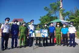 BTL Vùng Cảnh sát biển 1 tham gia lực lượng phòng, chống dịch tại Hà Tĩnh