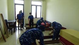 Vùng Cảnh sát biển 1chuẩn bị khu cách lytập trung cho người dân tại Hà Tĩnh