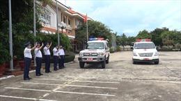 BTL Vùng Cảnh sát biển 3 điều động lực lượng quân y tham gia phòng chống dịch