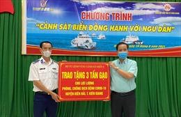 BTL Vùng Cảnh sát biển 4 hỗ trợ nhân dân phòng chống dịch COVID-19